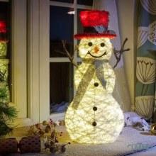 Holly McSnowflake - LED Lit Christmas Figure 62 cm