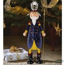 Polka Nutcracker Christmas Figure 44cm