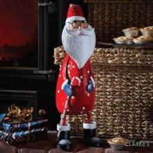 Polka Santa Christmas Figure 44cm