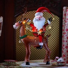 Santa's Comet! - LED Lit Christmas Figure 48cm