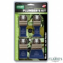 Smart Plumber's Multi-Tool Blade Kit 4 Pcs