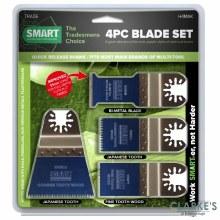Smart Multi-Tool Blade Set 4 Pcs