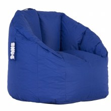 Snug blue bean bag
