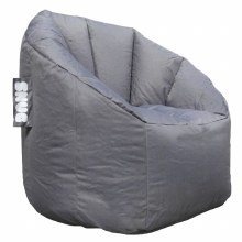 Snug grey bean bag