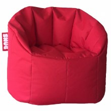 Snug red bean bag