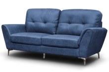 Sofia Sachara fabric sofa blue