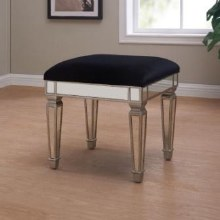 Sofia Mirrored Dressing Table Stool