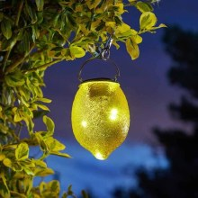 Solar Garden Funky Lemon Light