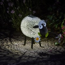 Solar Silhouette Dolly Sheep Light