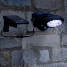 PIR Wall Spotlight with Motion Sensor 50 Lumen