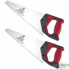 "Spear & Jackson Predator 22"" Universal Saw Twin Pack"