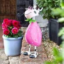 Spotty Cow Garden Decoration