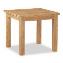 Salisbury Lite Square Oak Extending Dining Table