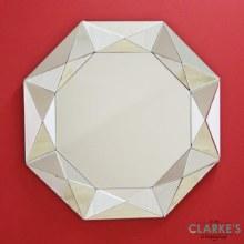 Stella Del Nord luxury wall mirror 80cm