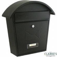 Sterling Classic 2 Post Box Black