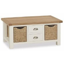 Suffolk Large Coffee Table White
