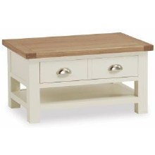 Suffolk Small Coffee Table White | DISPLAY MODEL