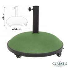 Garden Parasol Base with Wheels 25 Kg
