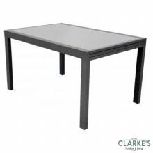 Aluminium Extendable Garden Table 135 - 270 cm