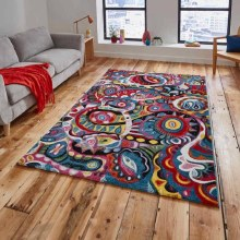 Sunrise Rug Y583A Multicolour 80 x 150cm