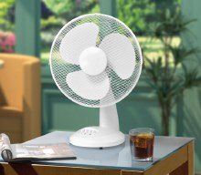 Oscillating Desk Fan 12""