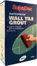 SupaDec Waterproof Wall Tile Grout 500g