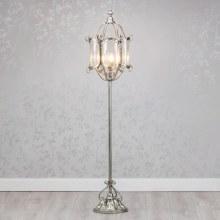Antique Silver Floor Light