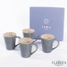 Tara Dune Mugs Midnight Blue Set of 4