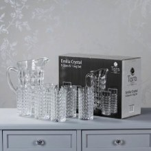 Emilia Glasses & Jug Set