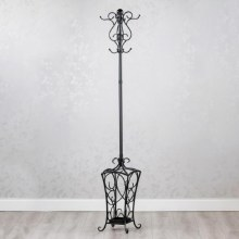 Rio Hat & Coat Stand Black