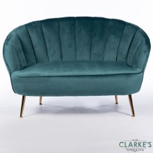 Kendall Teal 2 Seater Sofa