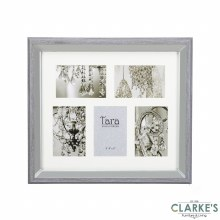Lauren Collage Photo Frame Grey 5 4x6