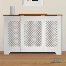 Two Tone Adjustable Radiator Cover Large