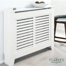 Rhode Island White Radiator Cover Small
