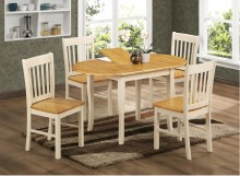 Thames Dining Set. Extending dining table and 4 chairs