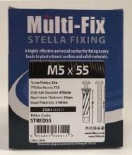 Timco Multi Fix Stella Fixing M5x55mm