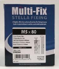 Timco Multi Fix Stella Fixing M5x80mm