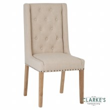 Timeless Collection Dining Chair Beige