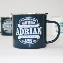 Top Bloke Enamel Adrian Mug