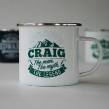 Top Bloke Enamel Craig Mug