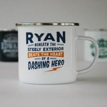 Top Bloke Enamel Ryan Mug