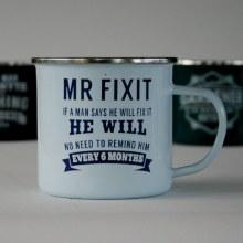 Top Bloke Enamel Mr. Fixit Mug