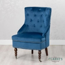 Torino Accent Chair Royal Blue