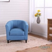 Toronto Kids Tube Chair Blue