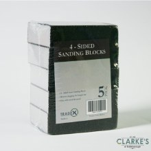 Tradex 5 Coarse Grade Sanding Blocks