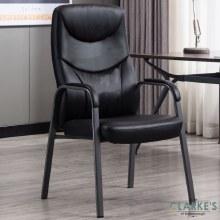 Travis Contemporary Fireside Chair Black