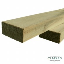"Treated Timber 2x1"" 16.4ft (5 Metre)"