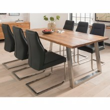Trier Industrial Style Dining Table 210cm