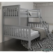 Triple grey bunk bed