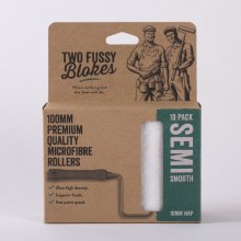 Two Fussy Blokes 10mm NAP Smooth Roller Sleeves 10 Pack